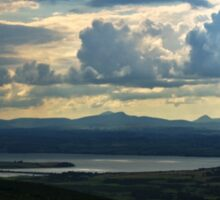 Looking to Inch Island, County Donegal Sticker