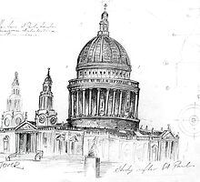 sketch from European folio 1 by Loui  Jover