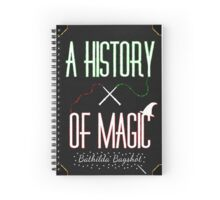 History Of Magic 2 Spiral Notebook