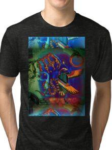 5734 Buddha Tri-blend T-Shirt