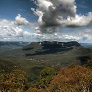 Blue Mountains Polarized by baddoggy