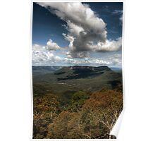 Blue Mountains Polarized Poster
