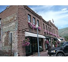 Aspen Streetscape. Photographic Print