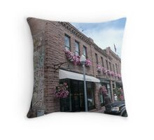 Aspen Streetscape. Throw Pillow