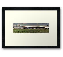 Gospel [panorama] Framed Print