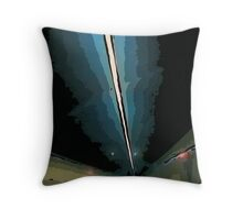 GF freeway tunnel Throw Pillow