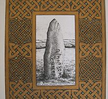 Cornish standing stone by suesummerill