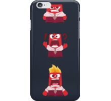 Anger Inside Out iPhone Case/Skin