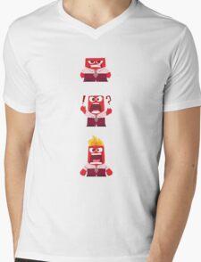 Anger Inside Out Mens V-Neck T-Shirt