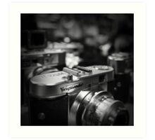 Aging Gracefully - Voigtlaender vintage camera Art Print