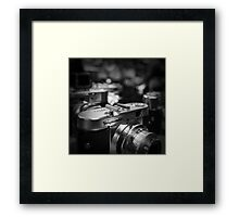 Aging Gracefully - Voigtlaender vintage camera Framed Print