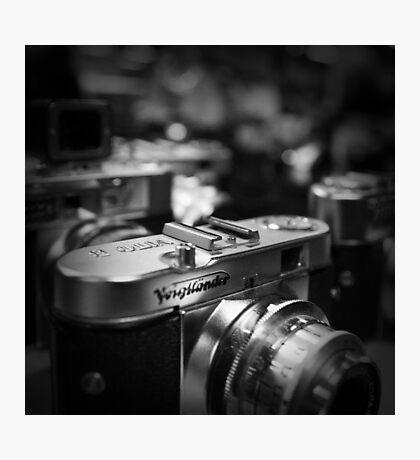 Aging Gracefully - Voigtlaender vintage camera Photographic Print