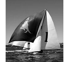 Old skiff  Photographic Print