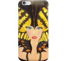 Butterfly Girl Take Me Away!  iPhone Case/Skin