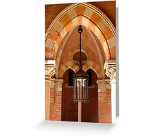 Grand Arch - King's Cross St. Pancras Station, London UK Greeting Card