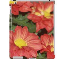 Orange Fall Flowers iPad Case/Skin
