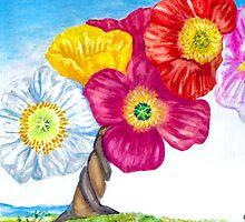 Poppy Trees by Cphif
