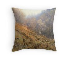 Holystone Forest, Northumberland, England Throw Pillow