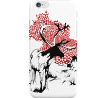 Reindeer drawing iPhone Case/Skin