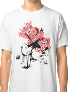 Reindeer drawing Classic T-Shirt