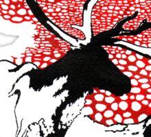 Reindeer drawing Sticker