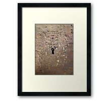 Key-hole to Imagination - Valencia, Spain Framed Print