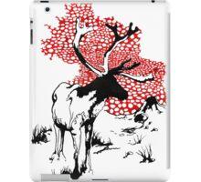Reindeer drawing iPad Case/Skin