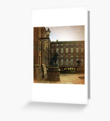 No Visitors - Saverne, France Greeting Card