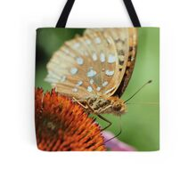 My first orange frittery butterfly Tote Bag