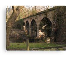 Rowsley Bridge Canvas Print