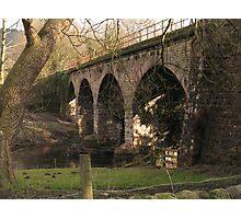 Rowsley Bridge Photographic Print