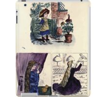 The Little Folks Painting book by George Weatherly and Kate Greenaway 0149 iPad Case/Skin