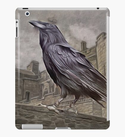 Corvus, The Raven King....from the Tales of Triskelion...1490 A.D. iPad Case/Skin