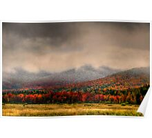 MOUNT  BAKER EARLY AUTUMN Poster