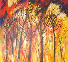 Forest Fire by Susan Duffey