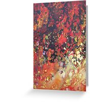 Inferno Abstract 2 Greeting Card