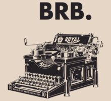 BRB - Be right back. by VisualKontakt & Co.
