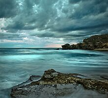 Turbulent Turquoise by Matt Bottos