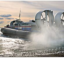 Portsmouth Hovercraft by Morag Bates