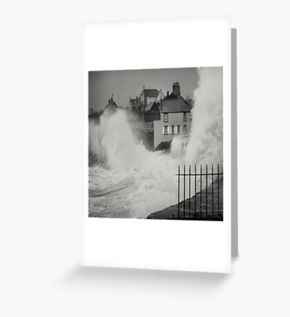 Wet front Greeting Card