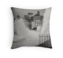 Wet front Throw Pillow