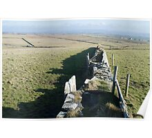 Stacked Stone Walls Poster