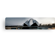 The Lotus Temple, A panorama Canvas Print