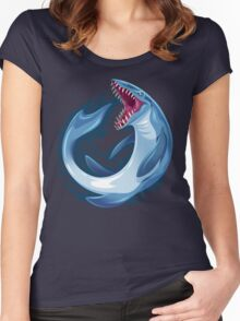 Mosasaurus Women's Fitted Scoop T-Shirt
