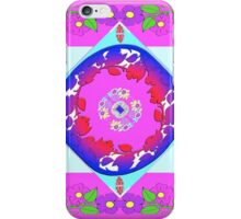 Smart Tech, Fashion and Home Accessories in Magenta Foulard Design iPhone Case/Skin