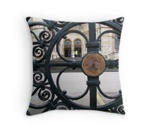 An Outsider's View Throw Pillow