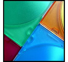coloured angles Photographic Print