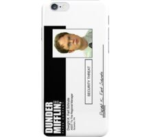 Security Threat - for Phones, Notebooks and iPad Case iPhone Case/Skin