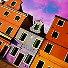 Burano Buildings by oddoutlet