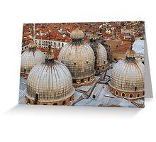 St Mark's Basilica, Venice, Italy Greeting Card